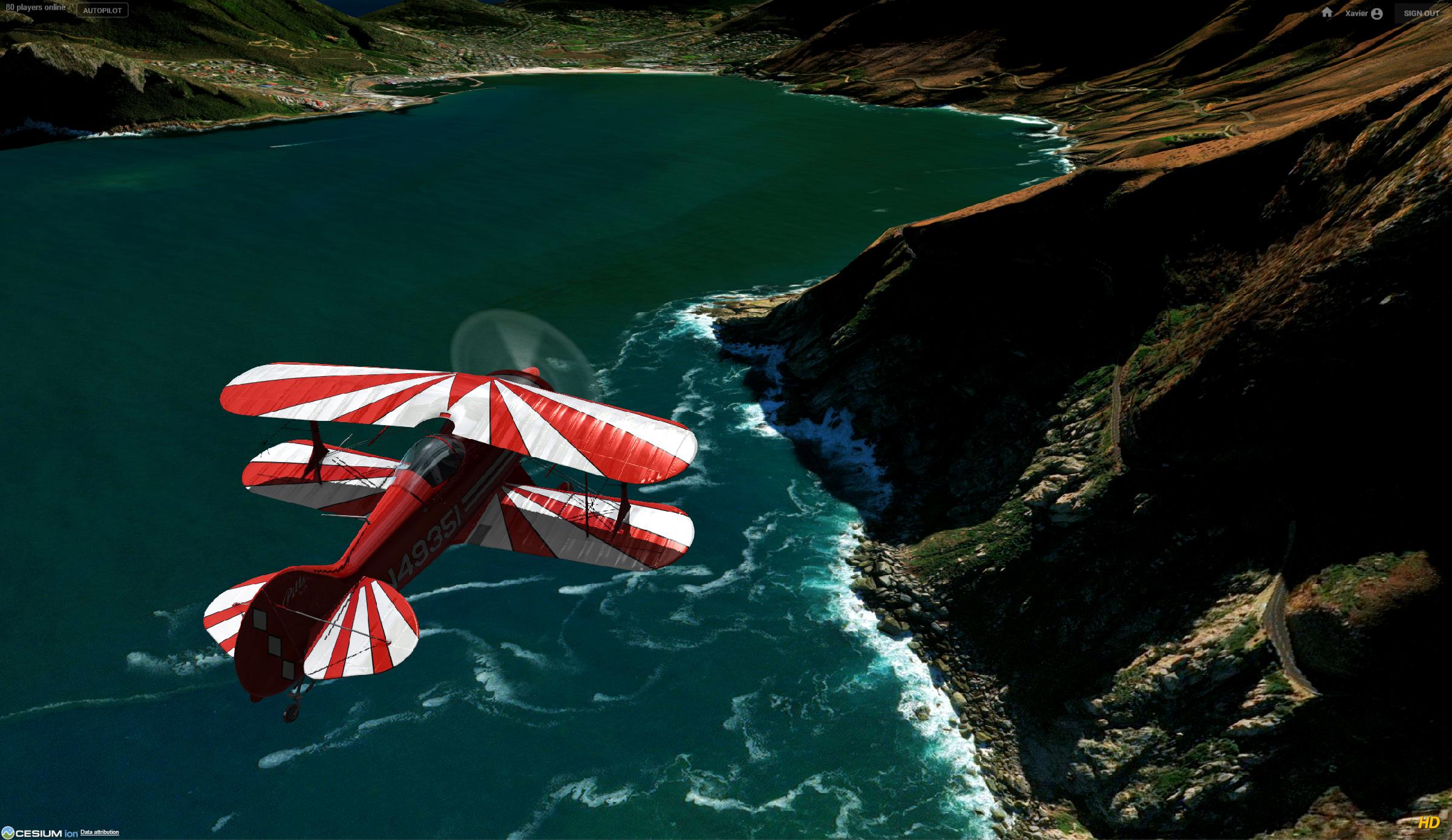 paraglider simulator google earth